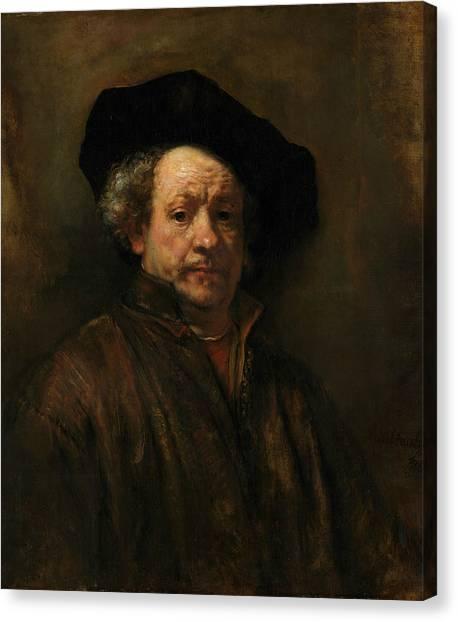 Rembrandt Canvas Print - Self-portrait, 1660 by Rembrandt