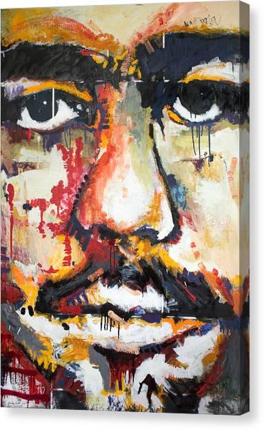 Self Portrait Canvas Print by Dmitry Gubin