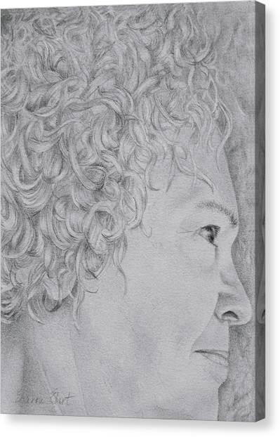 Self Portrait Canvas Print by Sharon Ebert