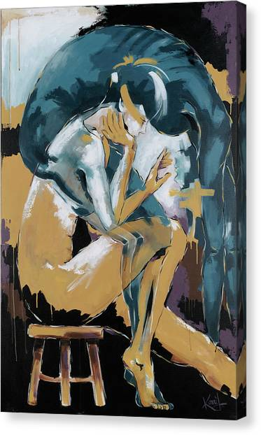 Self Reflection - Of A Dancer Canvas Print