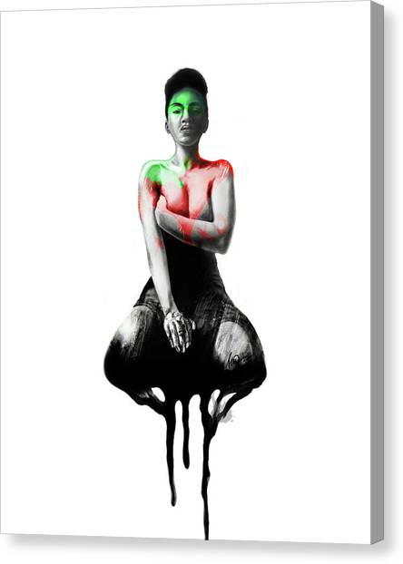 Self Xoxo Canvas Print