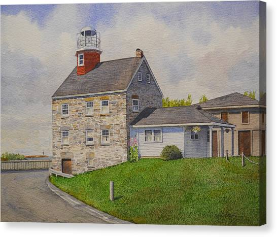 Selkirk Lighthouse Canvas Print