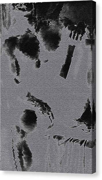 Semi-nude Original Abstract Art Cowboy Canvas Print