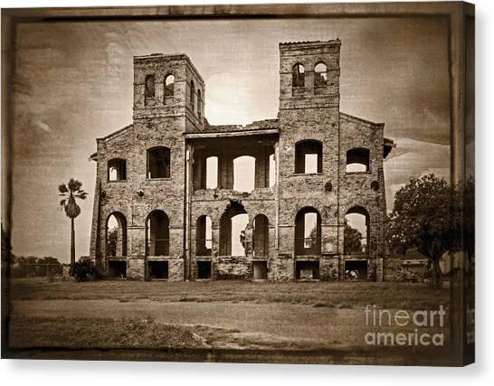 Seminary Ruins Canvas Print