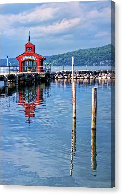 Seneca Lake Harbor Canvas Print