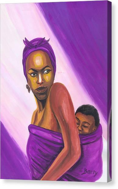 Senegalese Woman Canvas Print