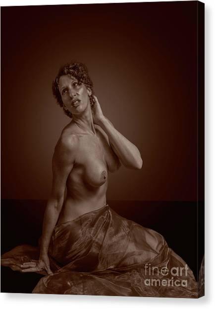 Sensual Nude Canvas Print