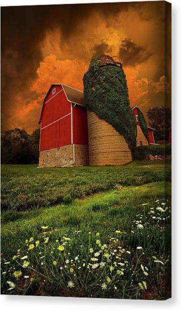 Barns Canvas Print - Sentient by Phil Koch