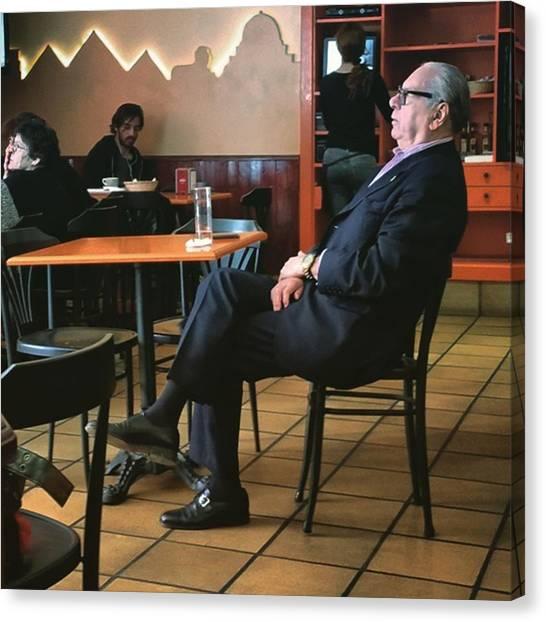 Bar Canvas Print - Señor #bar #portrait  #man by Rafa Rivas