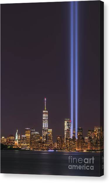 September 11th Memorial  Canvas Print