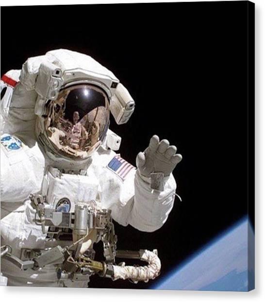 Astronauts Canvas Print - September 12, 2006. Astronaut Joseph R by Dominik Hofer