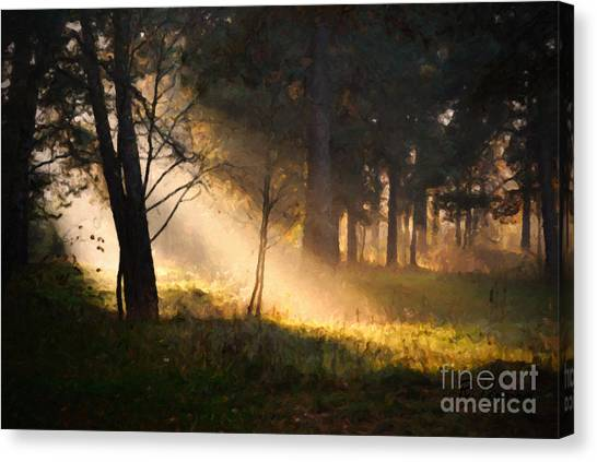 September Impressions Canvas Print