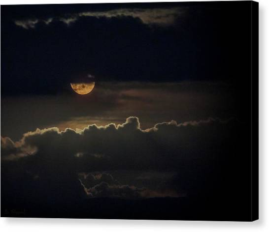 September Moon Canvas Print