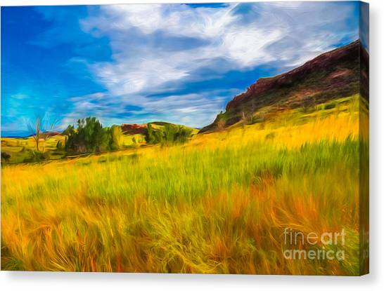 Colorado State University Canvas Print - September Morn by Jon Burch Photography