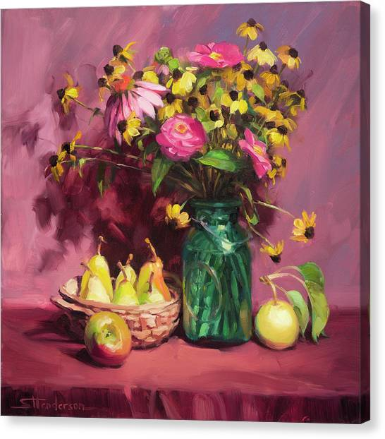 Susan Canvas Print - September by Steve Henderson