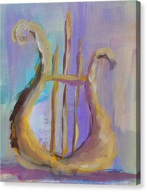 Chi Omega Canvas Print - Serenade by Susie Monzingo