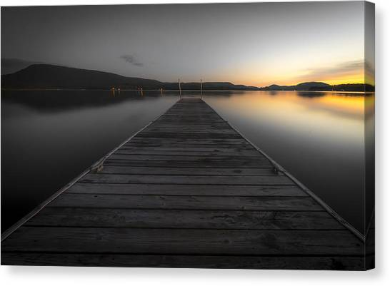 Serene Lake 2 Canvas Print