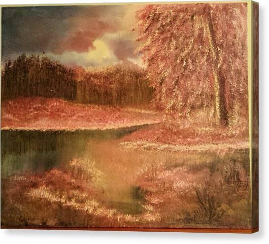 Serene Lake  Canvas Print