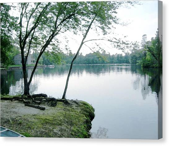Serene Sweetwater Canvas Print by Paul Barlo