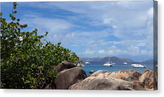 Serenity Abounds Canvas Print by Ginger Howland