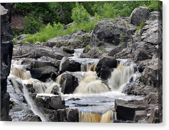Serenity At Jay Cooke Canvas Print by John Ricker