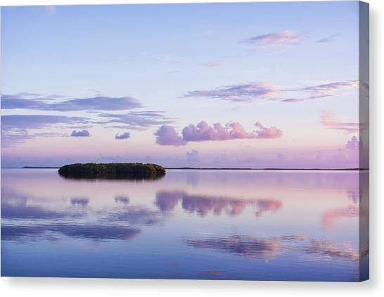 Serenity At Sunrise Canvas Print