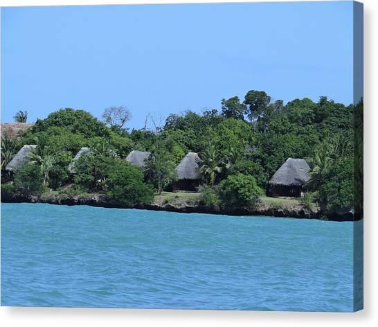 Exploramum Canvas Print - Serenity - Chale Island Kenya Africa by Exploramum Exploramum