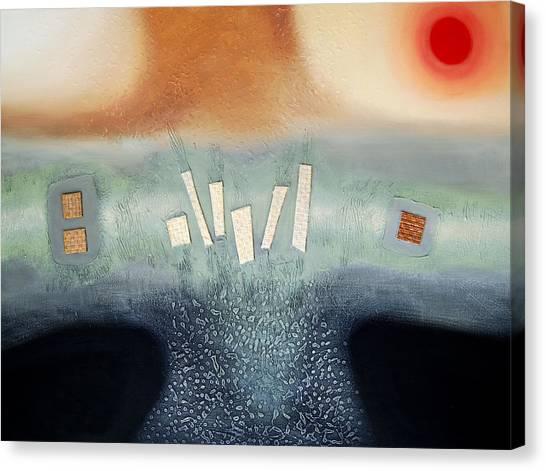 Serenity Canvas Print by Farhan Abouassali