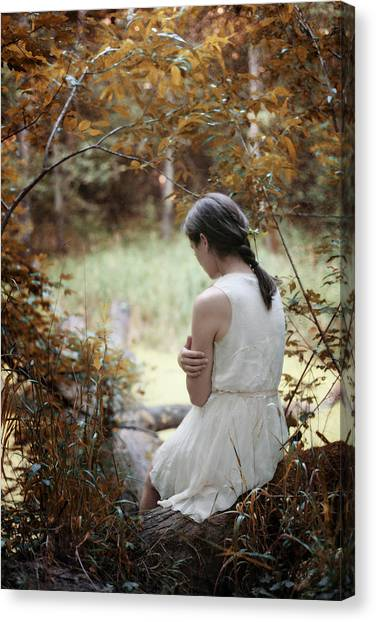 Serene Canvas Print - Serenity I by Cambion Art