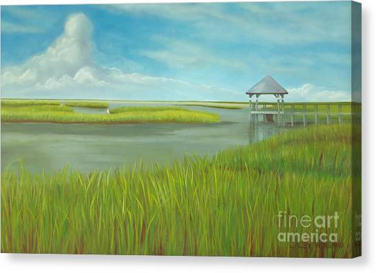 Serenity Canvas Print by Lacey Wingard