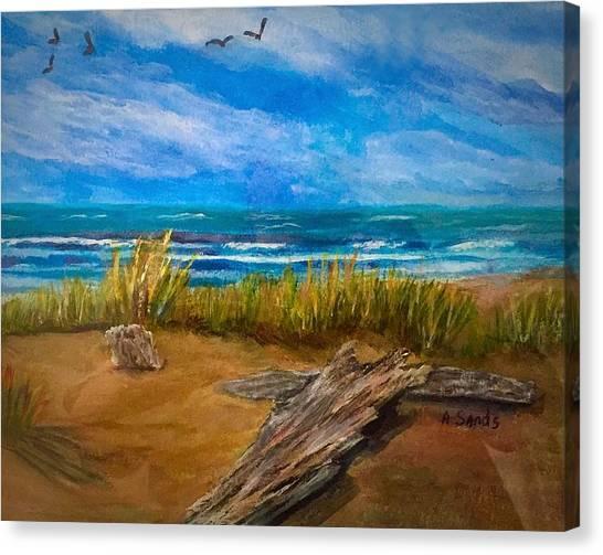 Serenity On A Florida Beach Canvas Print