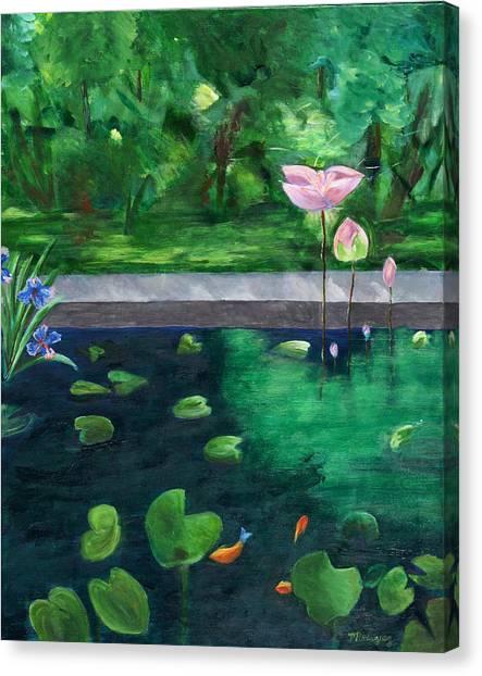 Serenity Pond Canvas Print