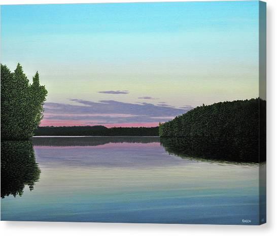 Serenity Skies Canvas Print