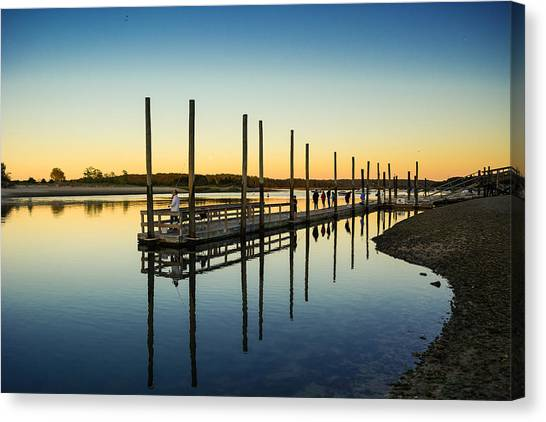 Serenity Sunset Kings Park New York Canvas Print