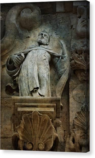 Sermon In Stone Canvas Print