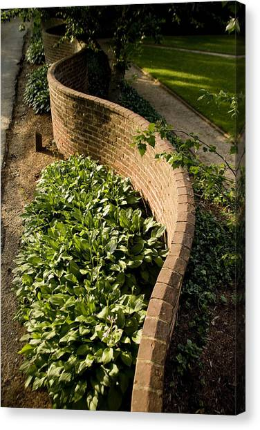University Of Virginia Canvas Print - Serpentine Walls As First Designed by Stephen St. John
