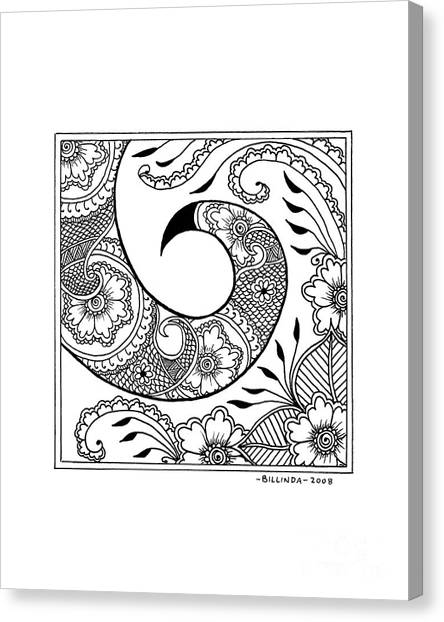 Serpent's Tail Canvas Print