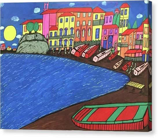 Sestri Levante Italy Canvas Print