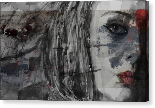 Adele Canvas Print - Set Fire To The Rain  by Paul Lovering