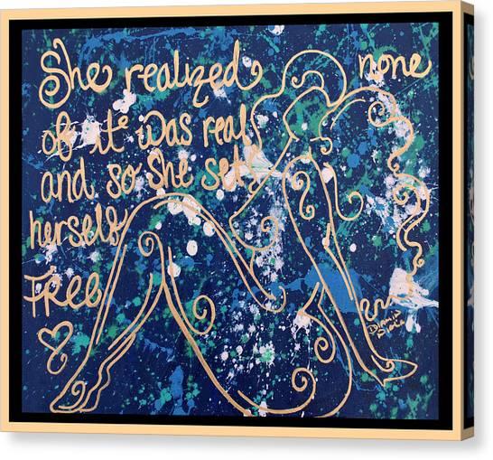 Canvas Print - Set Free by Diamin Nicole
