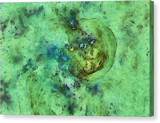 Cal Poly Canvas Print - Setling Intermixture  Id 16102-142047-51090 by S Lurk
