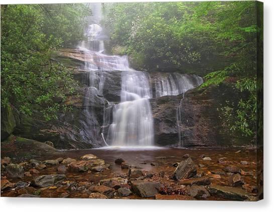 Setrock Creek Falls  Canvas Print