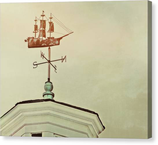 Setting Sail Canvas Print by JAMART Photography
