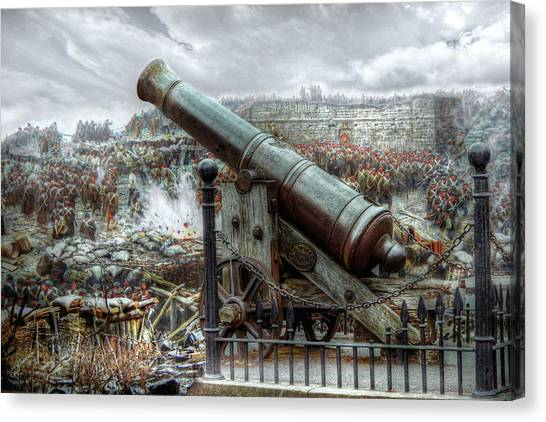 Sevastopol Cannon 1855 Canvas Print