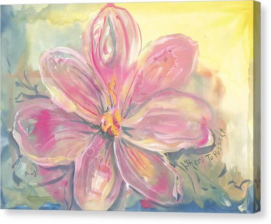 Seven Petals Canvas Print