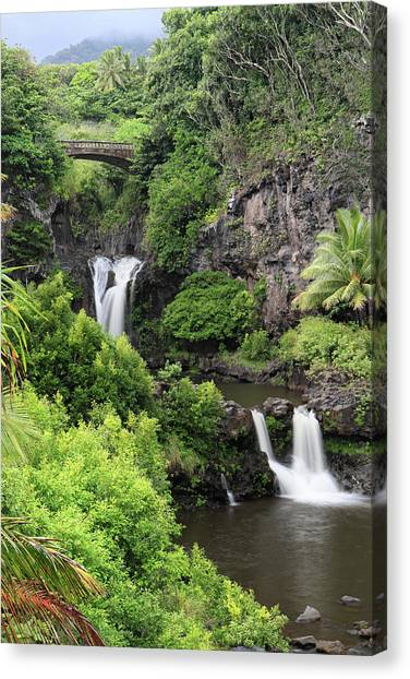 Seven Pools Hana Canvas Print