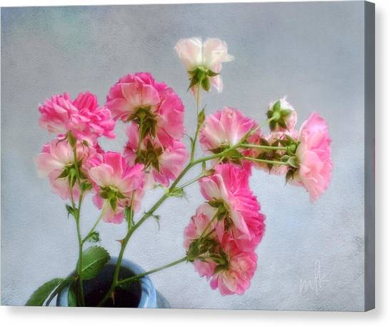 Seven Sisters Roses Canvas Print