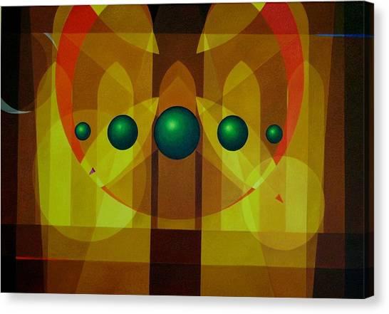 Seven Windows - 3 Canvas Print by Alberto DAssumpcao