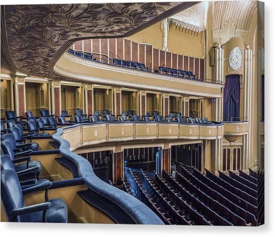 Ohio University Canvas Print - Severance Balcony And Main Floor by Kathleen Nelson