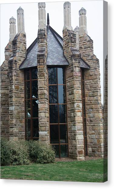 The University Of Tennessee Canvas Print - Sewannee Building by John Suter